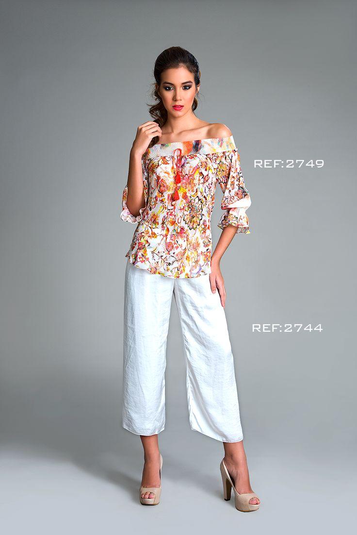 Pantalón culotte, perfecto para combinar con tus hombros  #mpm #patchwork #details #mpmdaily #woman #romantic