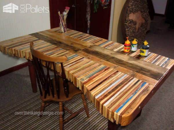 Creative Pallets Table Pallet Dining Table Pallet Diy