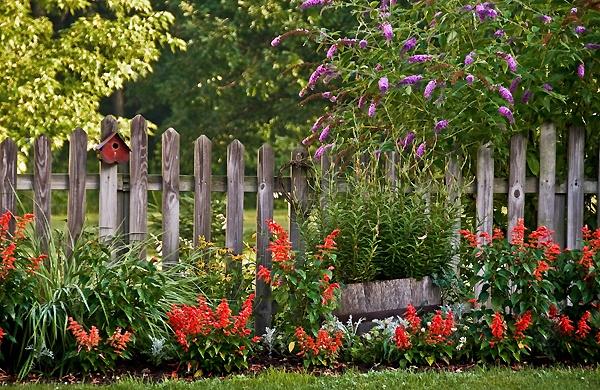 fence: Gardens Fence, Country Gardens