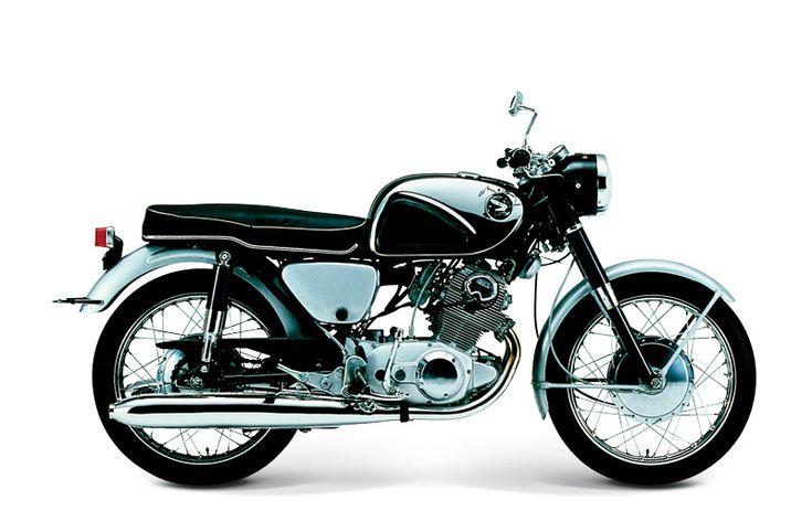 cyclomoteur 1950 1970 honda moto honda cb72 moteur bicylindre quatre temps arbre a came en. Black Bedroom Furniture Sets. Home Design Ideas