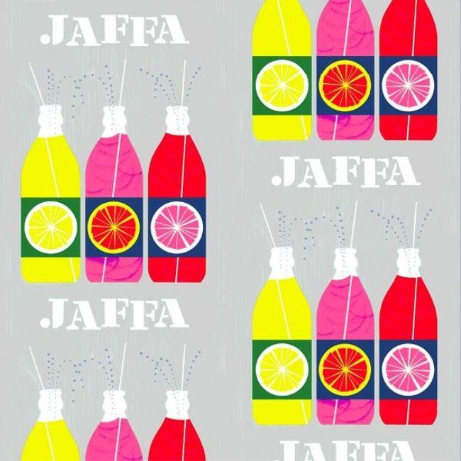 Jaffa duschdraperi från Vallila