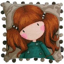 Gorjuss, Little Annie Tapestry Needlepoint Kit BTTG3