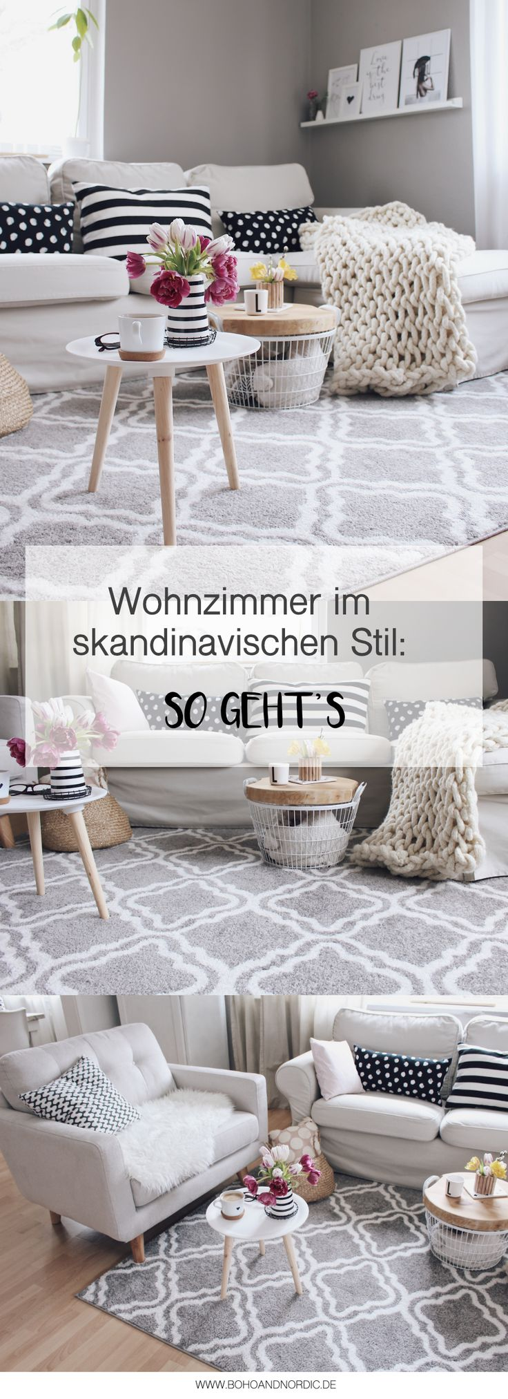 Anzeige – Wohnzimmer im skandinavischen Stil einrichten. #OTTOliving Wohnzimmer …