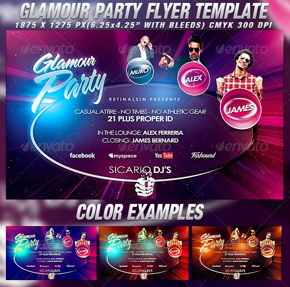 26 best Halloween Party Flyer Template images on Pinterest - party flyer