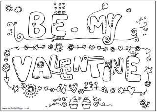free be my valentine cards printable coloring pages for kidsfree online activities crafts for kids valentines day to print out card - Be My Valentine Coloring Pages