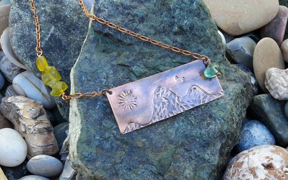 Hey, I found this really awesome Etsy listing at https://www.etsy.com/listing/470727557/the-mountains-are-calling-copper-and