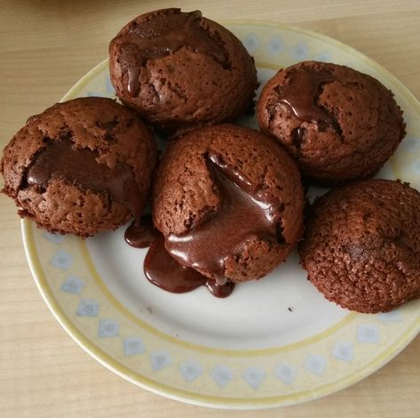 Schokoladenkuchen mit flüssigem Kern à la Italia 44
