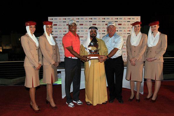 mark o'meara | Mark O'Meara Mohamed Juma Buamaim Vice Chairman and CEO of 'golf in ...