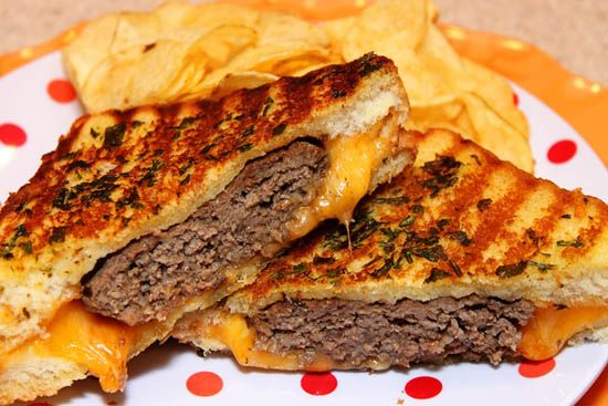 Mexican Grilled Cheeseburger