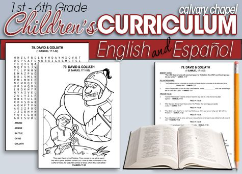 Calvary Curriculum offers 325 free Bible studies for grades 1st - 6th.   They also offer 53 free Bible studies for ages 3-Kindergarten.