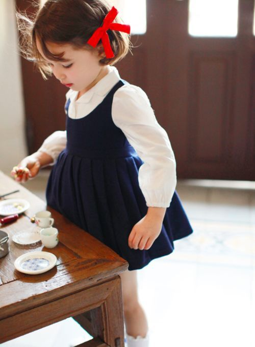 Amber Melia School-look Dress Baby Dress