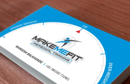 Make Me Fit - Business Card