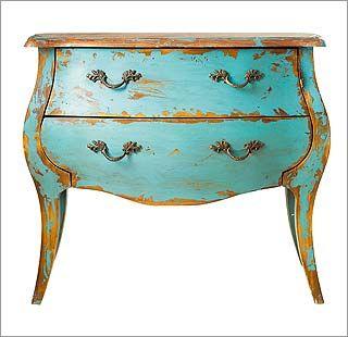 Muebles antiguos restaurados ideas de disenos - Modernizar muebles antiguos ...