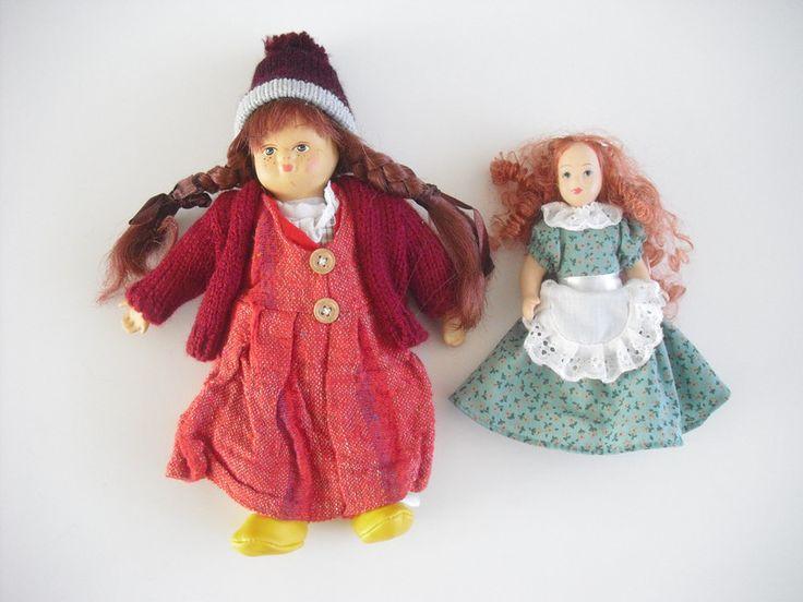 Vintage Künstlerpuppen - 2 Püppchen - Puppen - - ein Designerstück von allesfuermich bei DaWanda