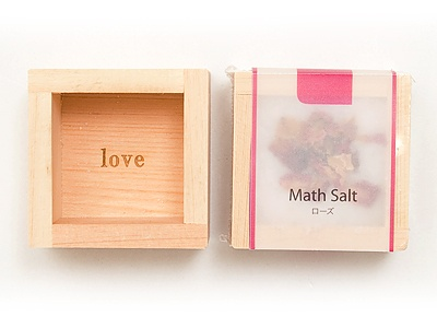bath salt Math Salt (マスソルト) ローズ