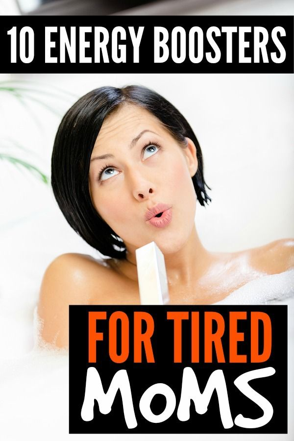 If you find yourself feeling tired and cranky each day, but don't have time for a power nap or soak in the tub, this list of 10 simple (and effective!) energy boosters for tired moms is JUST what you need to make it through to bedtime!
