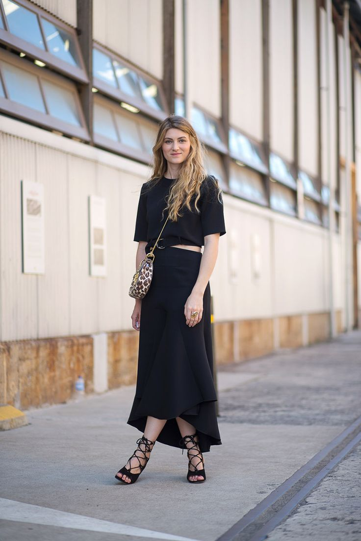 The Land Down Under Street Style From Australian Fashion