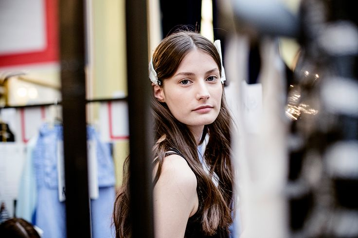 A glimpse behind-the-scenes of the Fay Spring - Summer 2015 Fashion Show.
