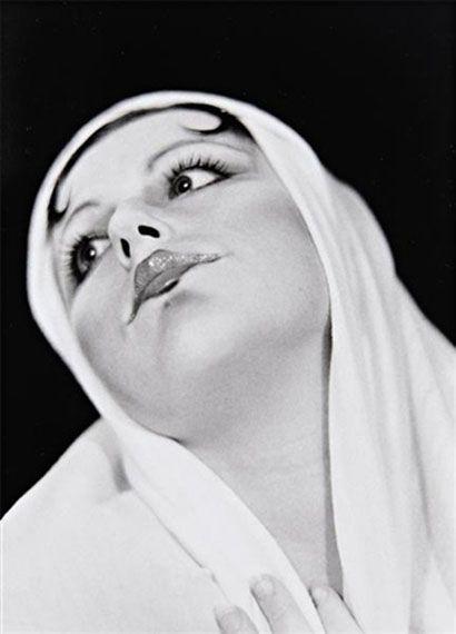 Untitled (Madonna) by Cindy Sherman, 1975.