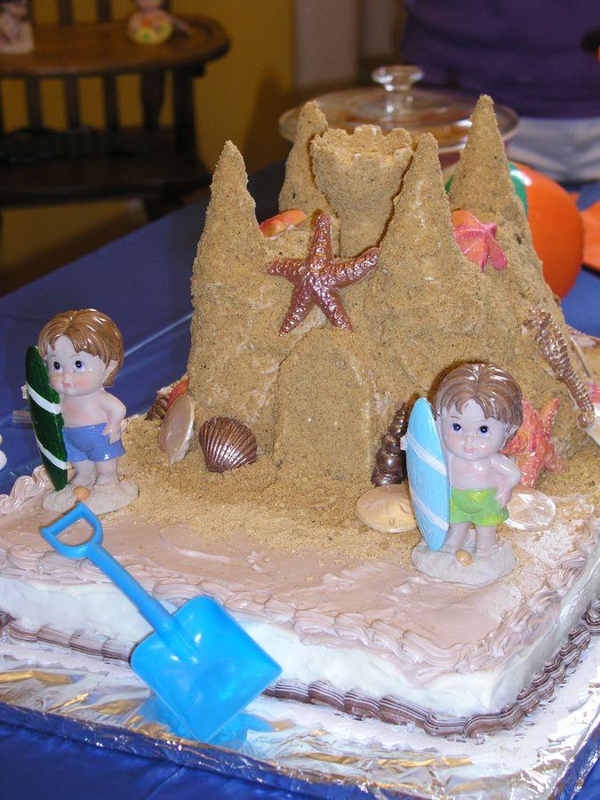 Best 25 Sand Castle Cakes Ideas On Pinterest Crazy