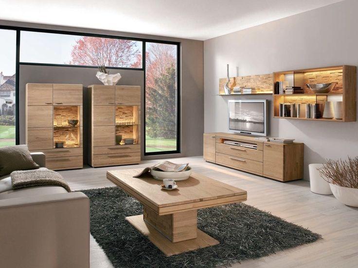 Hartmann Viva Wohnwand Massivholz Mobel Mit Www Moebelmit De Home House Furniture