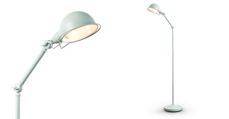 Jenkins Floor Lamp, Duck Egg