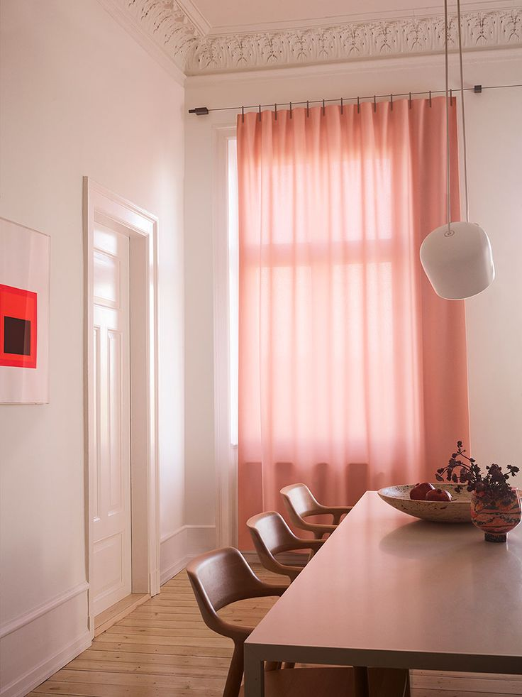 An easy-to-install kit containing everything you need to make your own window coverings.   Ready Made Curtain by Kvadrat and designers Ronan and Erwan Bouroullec solves the common problems associated with the traditional curtain. Here is a simple system where everything needed to fix a curtain is brought together in one functional kit, giving you the freedom and choice to make your ideal window covering.  The Ready Made Curtain kit can be used for any window and includes a hanging cord, wall…