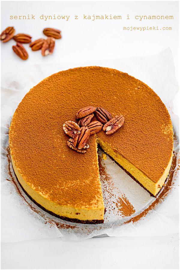 My Pastries | Pumpkin cheesecake with cinnamon and kajmakiem