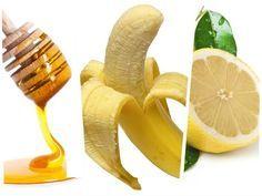 MASCARILLA DE PLATANO ANTIENVEJECIEMIENTO Ingredientes     1 plátano     1 cucharada de miel     10 gotas de jugo de limón Instrucciones 1. Corta el plátano en piezas pequeñas y acomódalo en el tazón. Machácalo con la cuchara de metal. 2. Añade la miel y el jugo de limón y mezcla bien. 3. Aplica la mezcla en la cara y déjala reposar por 15 minutos. 4. Enjuaga con agua tibia.