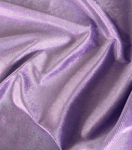 "Glitterbug Foil Fabric 59""-Lavender"