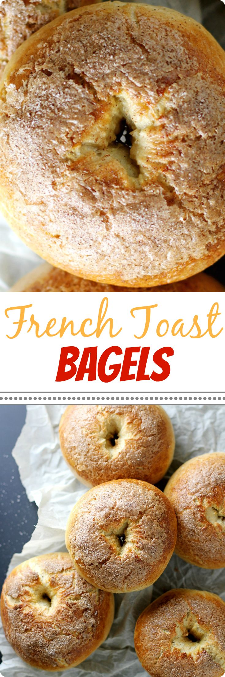 Why choose between French toast and bagels for breakfast when you can have both? These fluffy, soft bagels are easy to bake and taste just like classic French toast with maple, cinnamon, brown sugar and vanilla flavors. Don't forget the cream cheese! Find recipe at redstaryeast.com.
