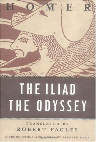 The Iliad and The Odyssey...wish to finish these someday....hmmmm.....