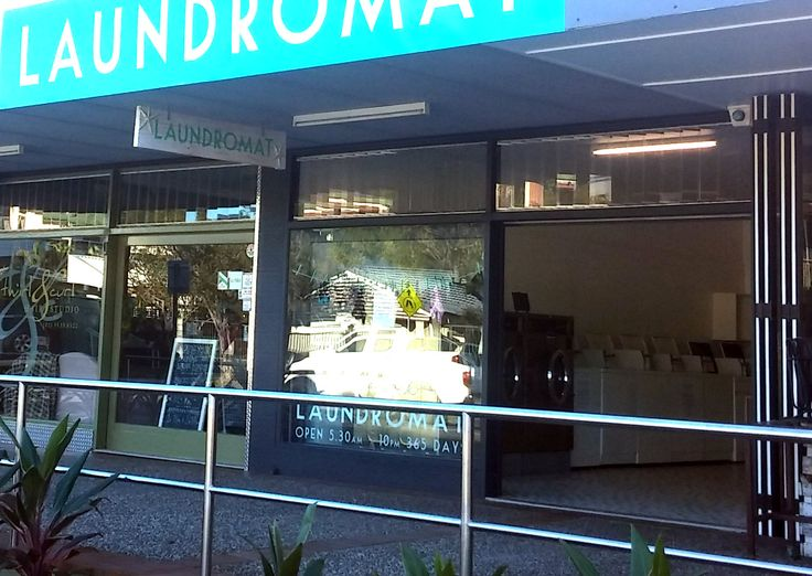 Our quirky Gold Coast Laundromat at Burleigh Heads - Queensland Australia