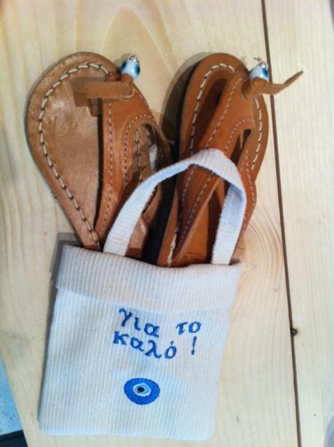 sandals ....