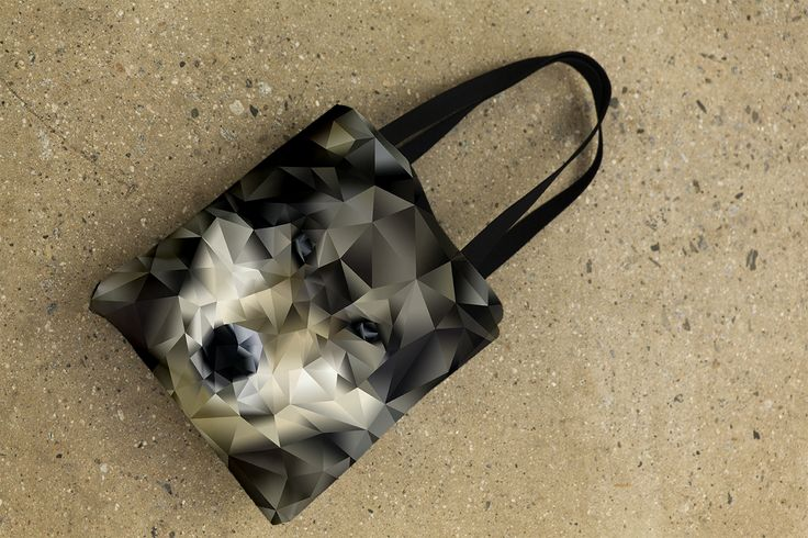 """Tote Bag - """"Abstract Wolf"""" http://www.lawleypop.ca/shop/product/tote-bag-wolf/ OFFICIAL LAWLEYPOP MERCHANDISE #allover #full #seamless #doublesided #print #printed #printing #lawleypop #lwleypop #lawleypopdesign #lawleypopmerch #fashion #accessories #style #bags #totes #totebags #handbags #shoulderbags #chic #street #urban #unique #custom #animal #art #design #photoshop #graphic #wolf #dog #mammal #hunter #carnivore #polygon #retro #vintage #pup #cub #wolves #pack #wild #label #logo #brand…"""