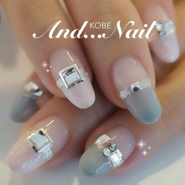 beautiful pastel nails #girly