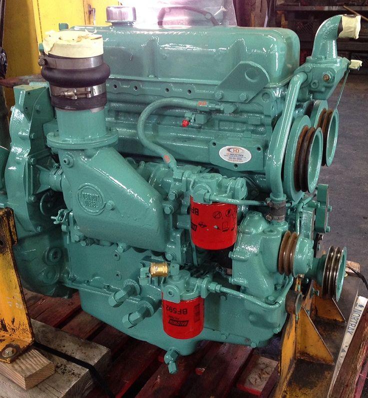 Detroit-Diesel Inline 53 4 Cylin