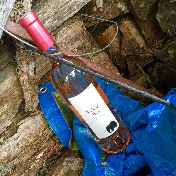 Vin rosé cuvée L'éléphant Rose. Millésime 2013. Famille Perrin. AOP/AOC Luberon