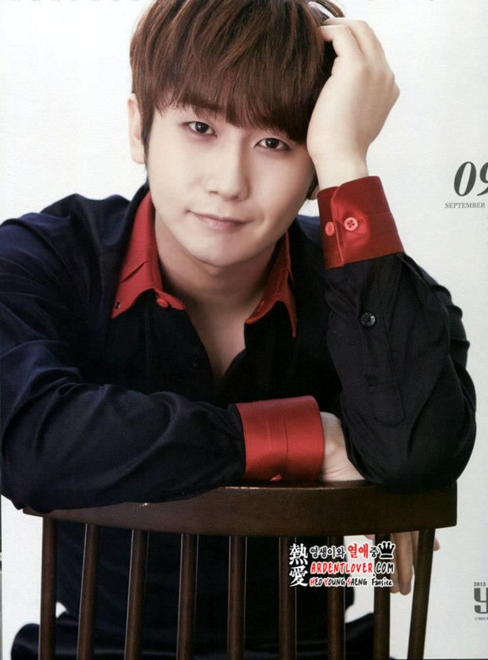 ❀ ✿ BlackRose50101 ✿ ❀: [Photo] Heo Young Saeng - 2013 Calendar