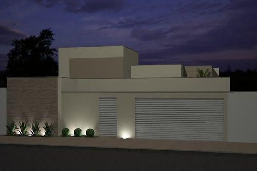 Decor Salteado - Blog de Decoração   Arquitetura   Construção   Paisagismo: Fachadas de Casas e Muros - veja modelos e dicas!