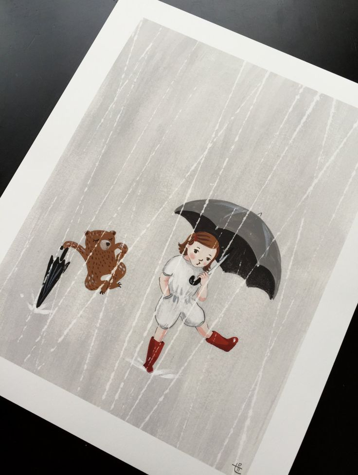 """Rain, Come Rain 8""""X10"""" Archival Print by ave9river on Etsy"""