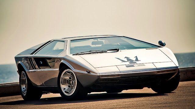 Maserati Boomerang Giorgetto Giugiaro Design #GTClassic #GTClassicar @GTClassic