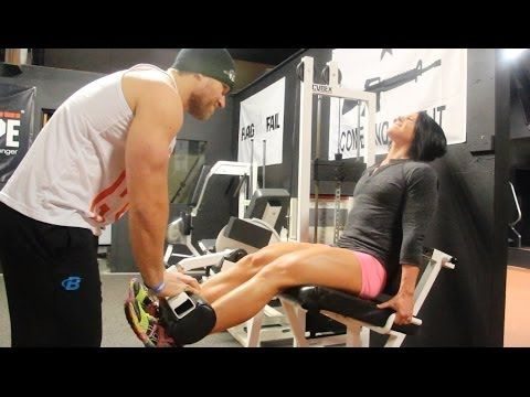 Killer Leg Workout with Dana Linn Bailey | Furious Pete - YouTube