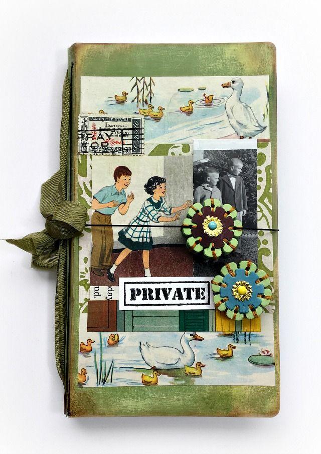 Pinch Your Chic: Make a Journal: A New HeARTfelt Sizzix Die