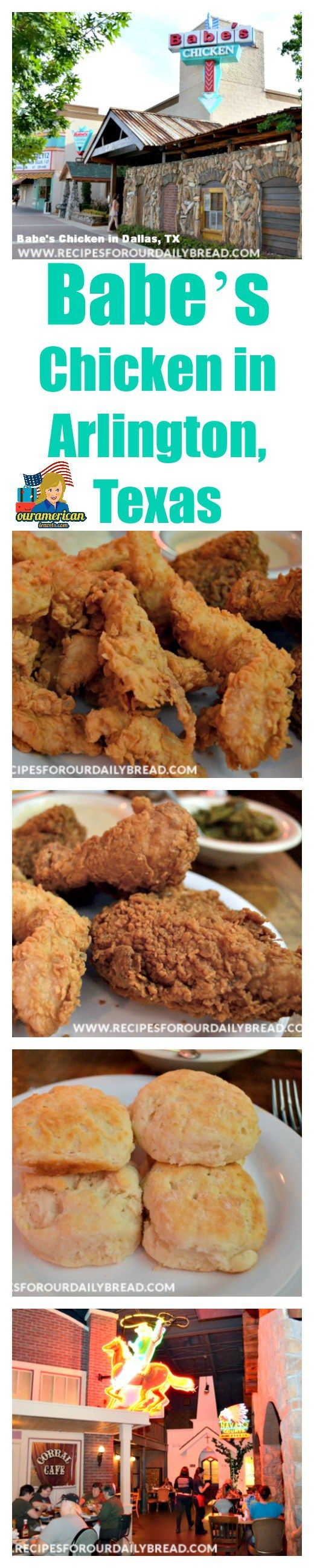 Babe's Chicken in Arlington, Texas is such a Great Family Fun Place with Delicious Food!