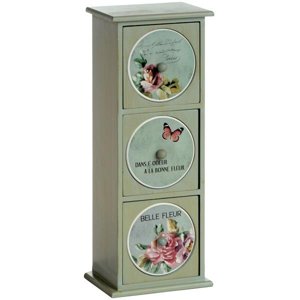 floral mini-chest