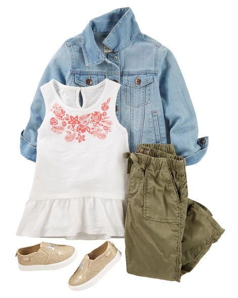Kid Girl OKF17JUNKID24 from Carters.com. Shop clothing & accessories from a trusted name in kids, toddlers, and baby clothes.