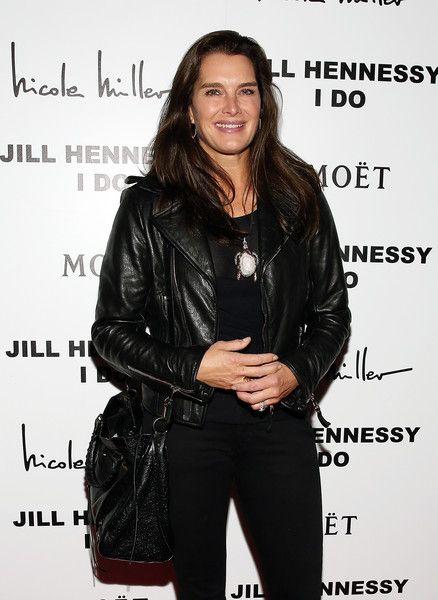 """Brooke Shields Photos - Actress Brooke Shields attends the album release party for Jill Hennessy's """"I Do"""" at The Cutting Room on October 5, 2015 in New York City. - Jill Hennessy's 'I Do' Album Release Party"""