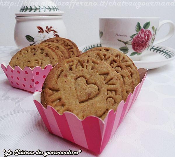 Biscotti Digestive fatti in casa - Home made Digestive