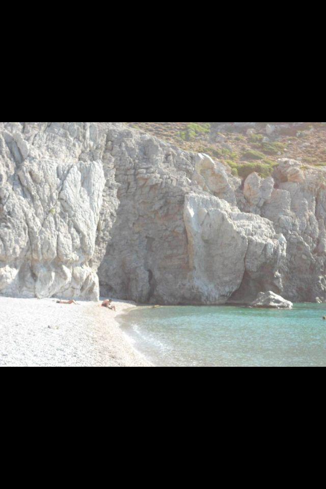 Caves at Traganou beach